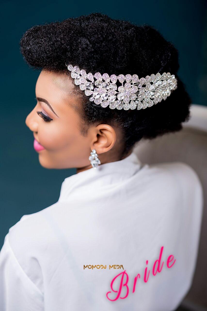 How To Style Bridal Natural Hair A Nigerian Naturalista S Bridal Hair Inspiration